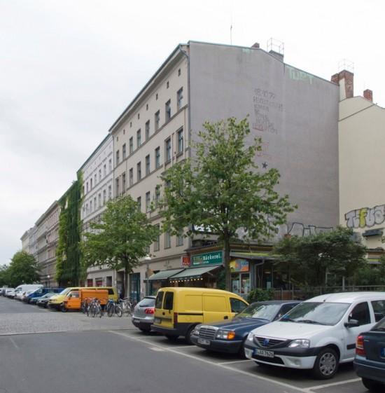 154: Instandsetzung und Modernisierung • Cuvrystraße 20–27 • Bogensberger/Schlusche, Architektengemeinschaft Durchbruch/Bubacher • Block 133 • Zustand Juli 2012 • Foto: Gunnar Klack