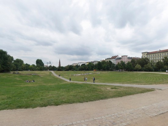 161: Gelände des ehemaligen Görlitzer Bahnhofs • Görlitzer Park • Freie Planungsgruppe Berlin • Zustand Juli 2012 • Foto: Gunnar Klack