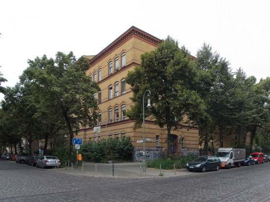 166: Umbau Schule • Reichenberger Straße, Forster Straße • Rolf D. Weisse •Block 145 • Zustand Juli 2012 • Foto: Gunnar Klack