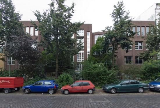 166: Erweiterungsbauten Schule • Reichenberger Straße • Rolf D. Weisse •Block 145 • Zustand Juli 2012 • Foto: Gunnar Klack