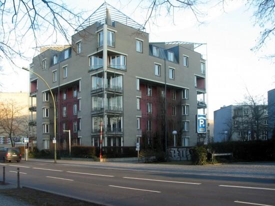 Wohnhaus Lüzowufer 14, Erich Schneider-Wessling/Hanno Lagemann/Zeki Dinekli, Zustand März 2012; Foto: Dirk Kaden