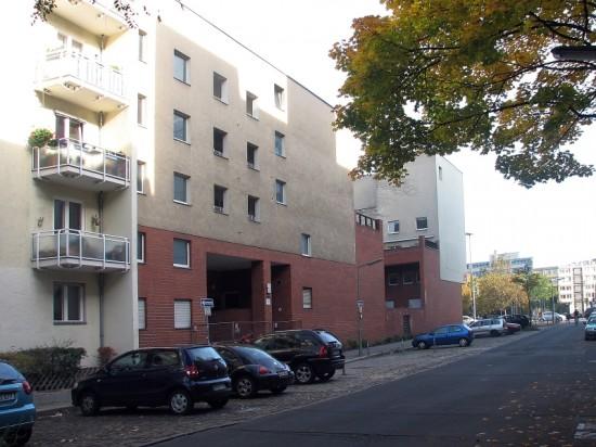 Häuser Wichmannstraße 1 und 3, Straßenansicht, Zustand Oktober 2012; Foto: Dirk Kaden