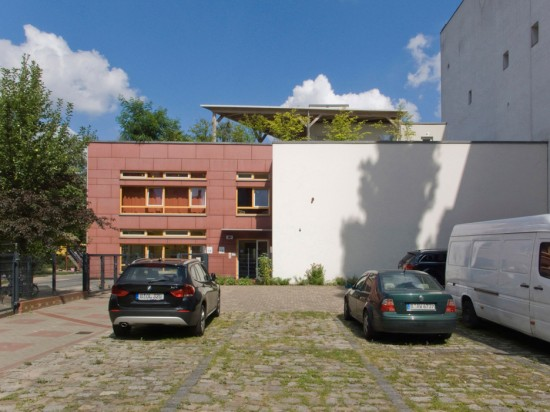 172: Neubau einer Kindertagesstätte • Reichenberger Straße, Manteuffelstraße, Skalitzer Straße •Block 106 • Zustand Juli 2012 • Foto: Gunnar Klack