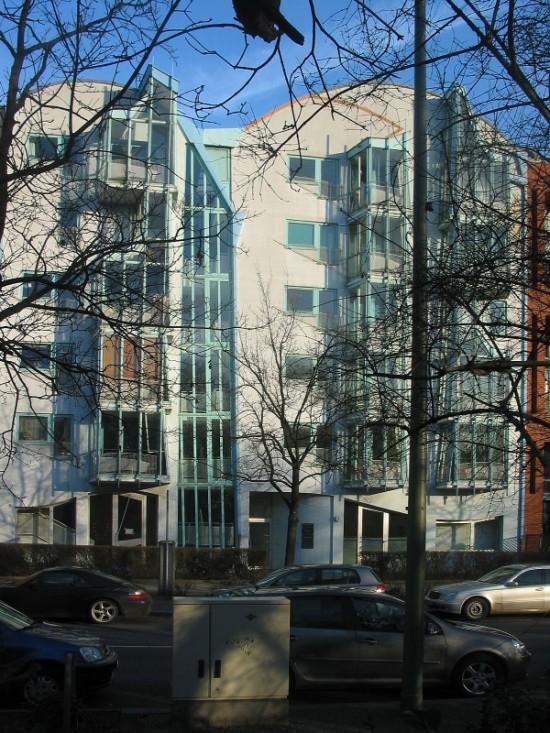 Wohnhaus Lützowplatz 3, Peter Cook/Hinrich Baller/Inken Baller, Zustand März 2012, Foto: Dirk Kaden