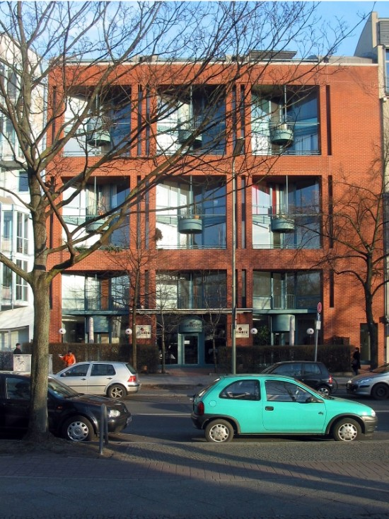 Wohnhaus Lützowplatz 5, B.J.S.S., Zustand März 2012, Foto: Dirk Kaden