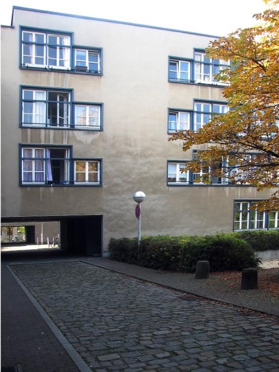 Torhäuser Lützowstraße, Innenhof, Zustand Oktober 2012; Foto: Dirk Kaden