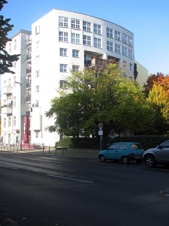 Stadtvilla Kurfürstenstraße 60, Ante Josip von Kostelac/Brigitta Barba/Hans Berzenberger, Zustand Oktober 2012; Foto: Dirk Kaden