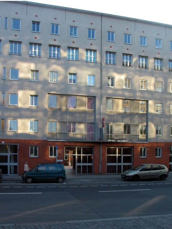Wohnhaus Lützowstraße 61–63, Zustand März 2012; Foto: Dirk Kaden