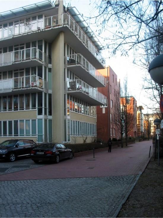 Stadtvillen Einemstraße 20, 20A–C, Zustand März 2012; Foto: Dirk Kaden
