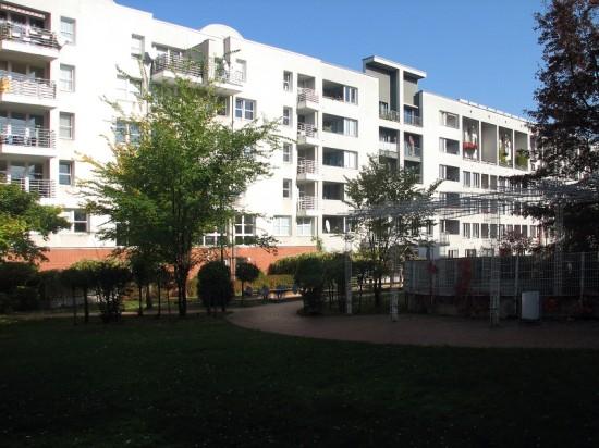 Wohnhäuser Lützowstraße 57–63, Hofansicht, Zustand Oktober 2012; Foto: Dirk Kaden