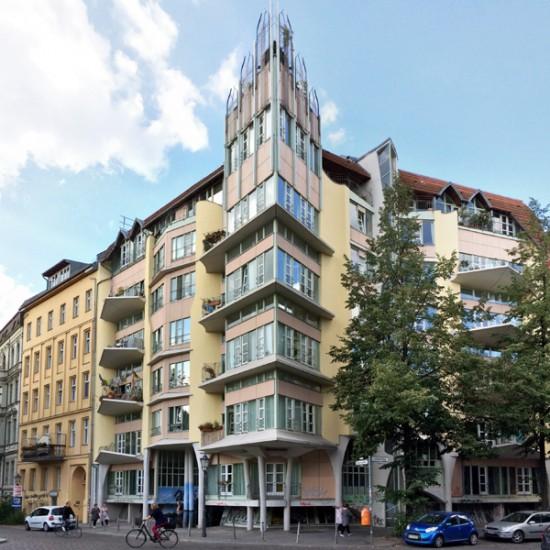 Eckhaus, Zustand September 2016; Foto: Gunnar Klack