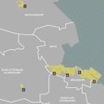 Beitrag Übersichtskarten der Demonstrationsgebiete