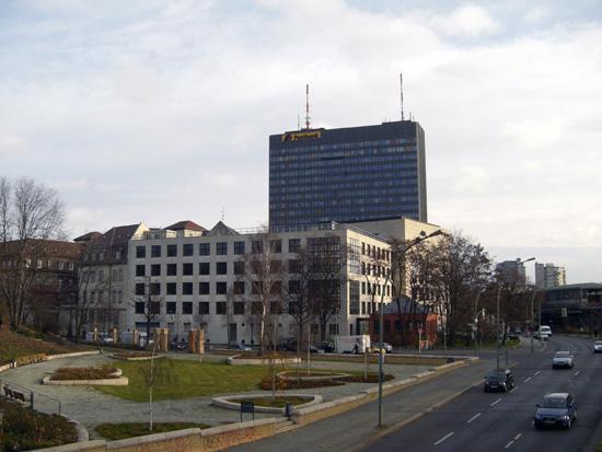 Ansicht von Südwesten, Zustand Dezember 2011; Foto: Tina Kühn