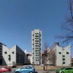 Wohnbebauung mit Atelierturm