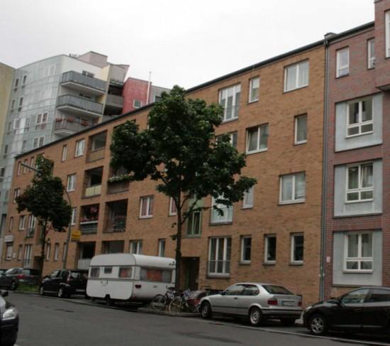 Blick auf die Dessauer Straße 38/39, Zustand 2012; Foto: Corinna Tell