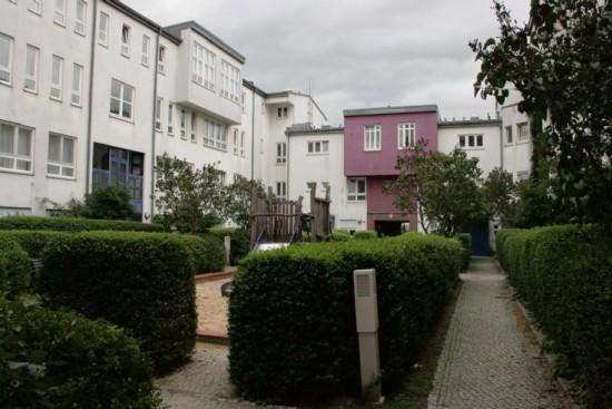 Blick in den Hof Bernburger Straße 9, Dessauer Straße 40, Zustand 2012; Foto: Corinna Tell